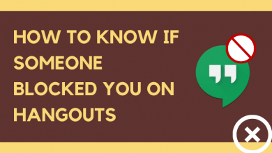 How to Know if someone blocked you on Hangouts