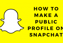 How to Make a Public Profile on Snapchat