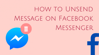 How to Unsend Message on Facebook Messenger