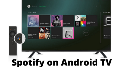 Spotify on Android TV