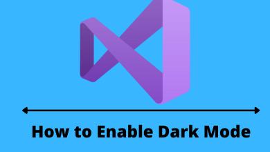 Visual Studio Dark Mode